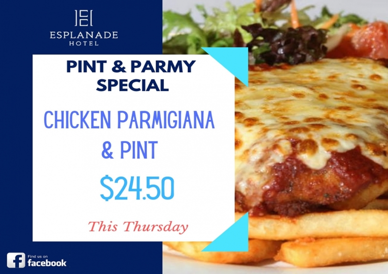 Pint & Parmy Special